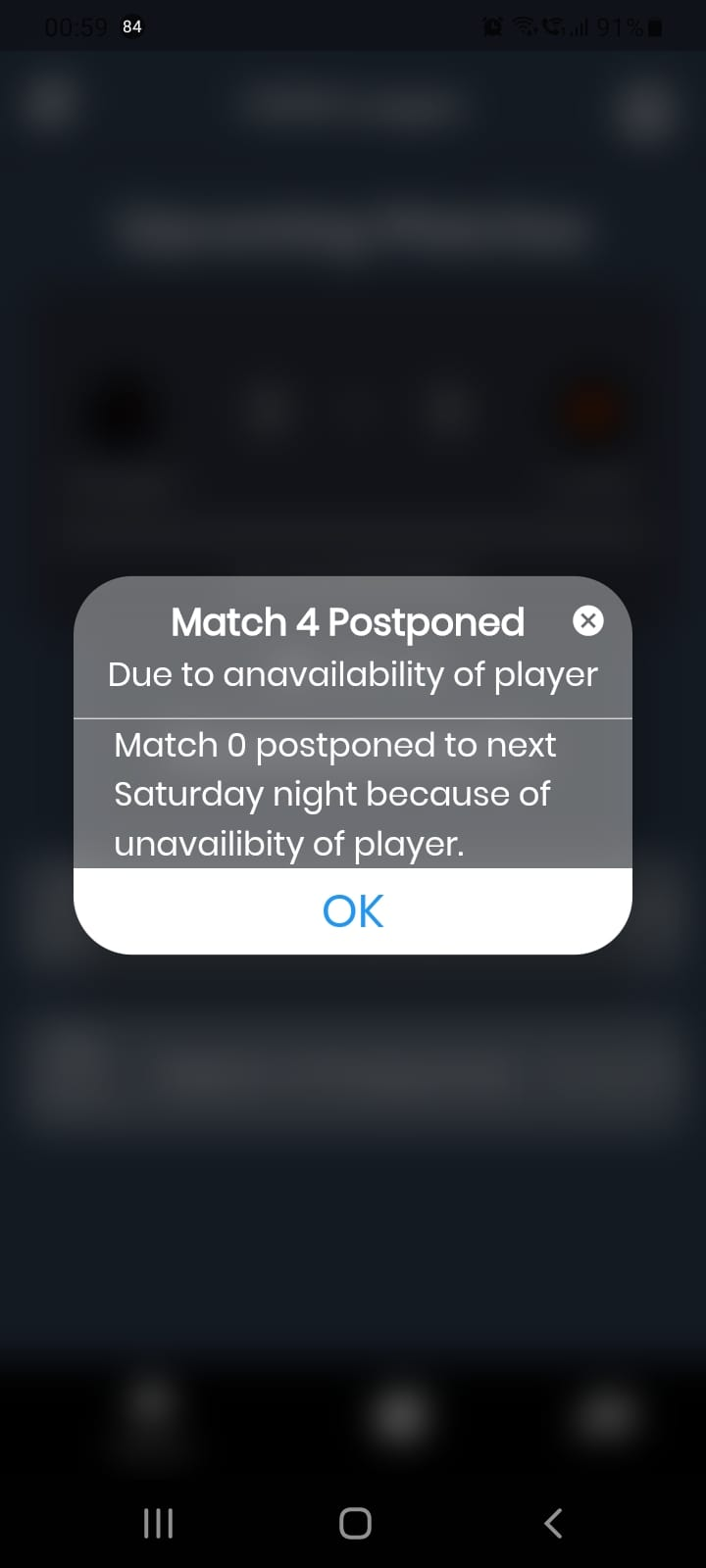 CS:GO Tournament App Build Using Flutter