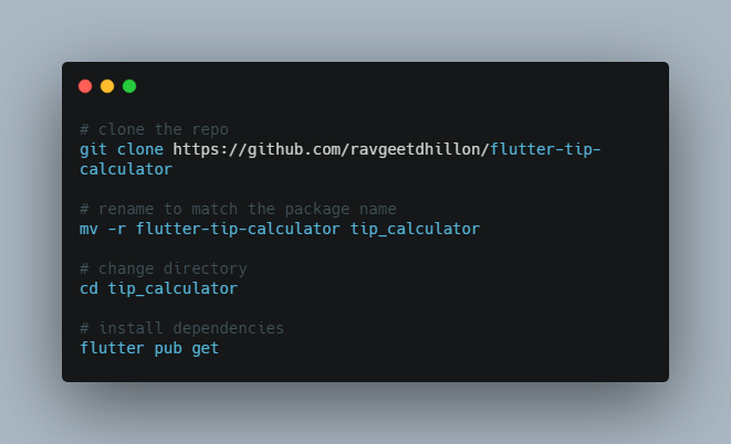 A Tip Calculator app made in Flutter