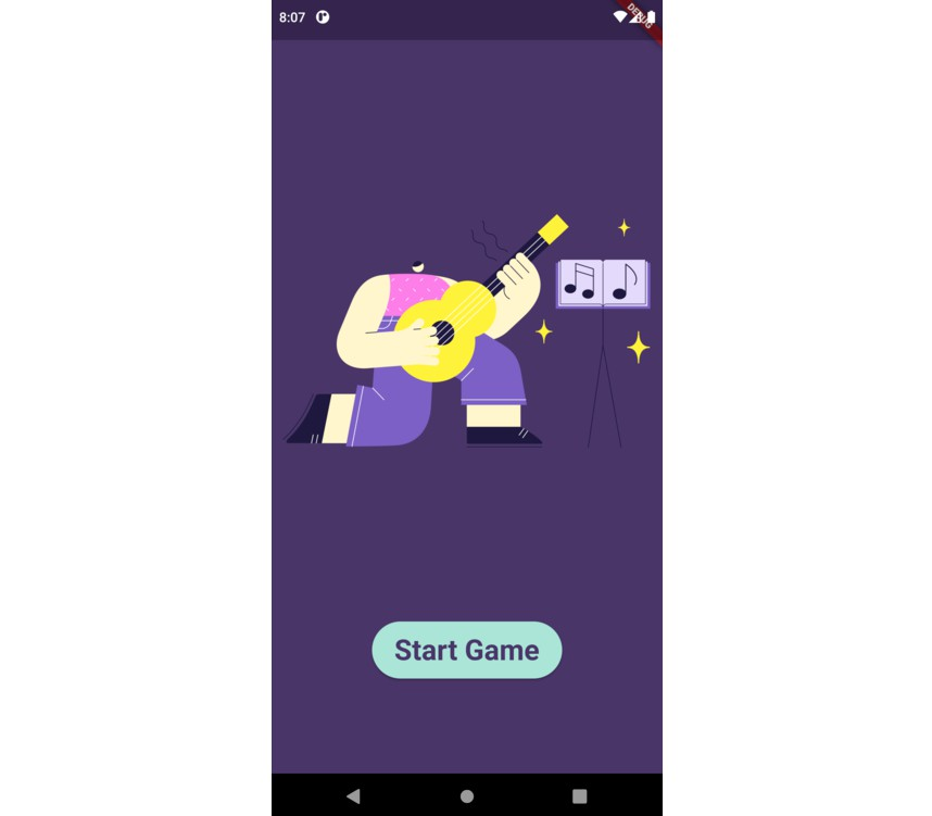 Perfect Pitch Game Using Flutter